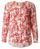 BOSS ORANGE Silk Floral Blouse