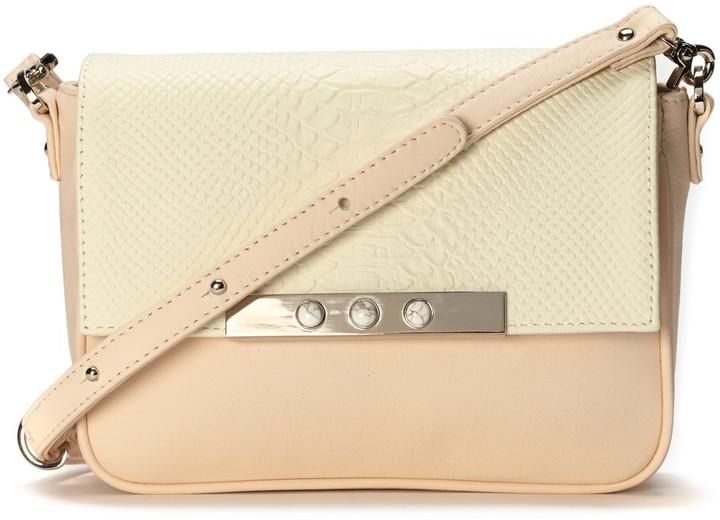 Lizzie Fortunato Peach Schoolgirl Mini Bag