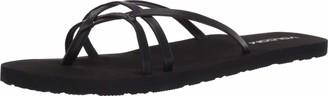 Volcom womens Criss Cross Strap Sandals Water Shoe