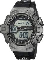 Head Men's 'Half Pipe' Quartz Resin and Rubber Casual Watch, Color: (Model: HE-106-04)