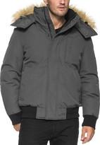 Andrew Marc Bristol Faux Fur Trim Jacket