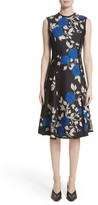 Jason Wu Women's Floral Crepe Fit & Flare Dress