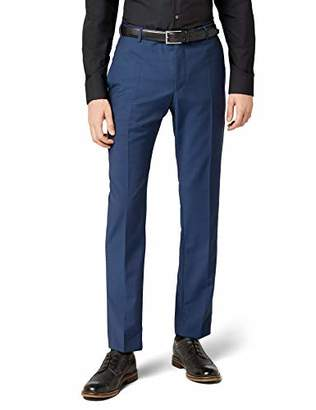 Strellson Premium Men's Suit Trousers - Blue