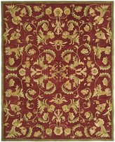Safavieh Anatolia Collection AN527A Handmade and Sage Wool Area Rug, 5 feet by 8 feet