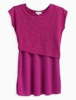 Splendid Little Girl Burnout Layer Dress