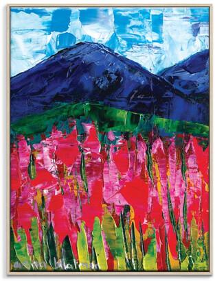Artist Lane Deep Beyond Framed Canvas Print