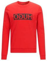 HUGO BOSS Dicago Cotton Logo Sweatshirt M Red