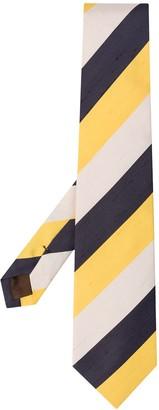 Church's Striped Silk Tie