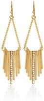 White House Black Market Bar Drop Chandelier Earrings