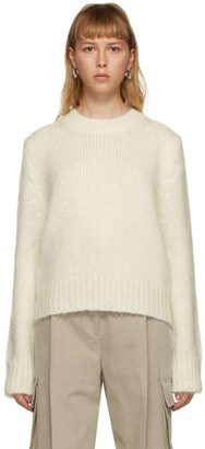 DRAE Off-White Mohair Sweater