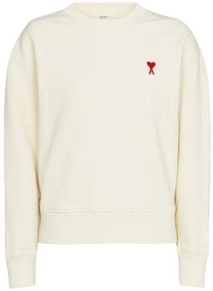 AMI Paris Exclusive to Mytheresa Ami de Cur cotton sweatshirt