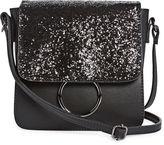 Asstd National Brand Mini Sparkle Flap Crossbody Bag