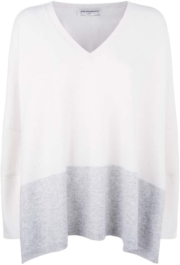 Amanda Wakeley Cashmere V-Neck Sweater