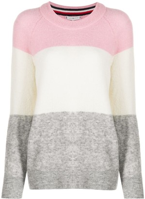 Tommy Hilfiger Colour-Block Knit Jumper
