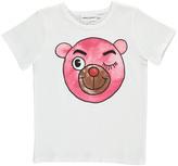 Mini Rodini Pink Bear-Cub T-Shirt