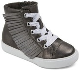 Cat & Jack Toddler Girls' Jaye Fringe High Top Sneakers Cat & Jack - Metallic