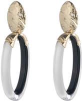 Alexis Bittar Rocky Metal Oval Clip Earring
