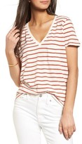 Madewell Women's Stripe V-Neck Tee