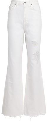 GRLFRND Dawn Flared High-Rise Jeans