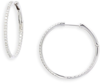 Bony Levy Bardot Inside Out Diamond Hoops