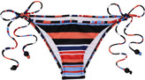 Milly Block Island Stripe bikini briefs