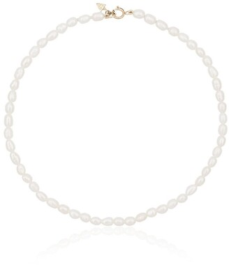 Loren Stewart 14k Gold And Pearl Anklet