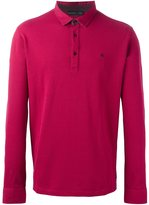 Etro long sleeve polo shirt - men - Cotton - M