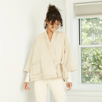 Universal Thread Women's Neutral Overcoat Jacket - Universal ThreadTM
