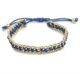 BaubleBar Cobalt Chain Bracelet