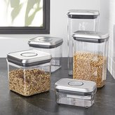 Crate & Barrel OXO ® Steel Pop Containers, Set of 5