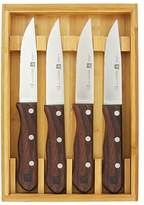 Zwilling J.A. Henckels 4-Piece Steakhouse Knife Set with Storage Case