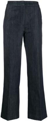 ALEXACHUNG Alexa Chung high-waisted flared trousers