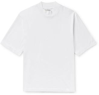 Acne Studios Cotton-Jersey Mock-Neck T-Shirt
