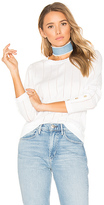 White + Warren Crew Neck Sweater in White. - size XS (also in )