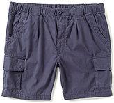 Roundtree & Yorke Casuals Big & Tall Full Elastic Waistband Cargo Shorts
