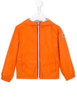 Moncler zipped jacket - kids - Cotton/Polyamide - 8 yrs