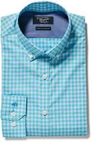 Original Penguin Aqua Gingham Dress Shirt