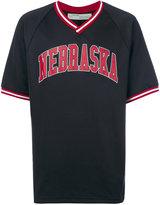 Off-White Nebraska T-shirt - men - Cotton/Polyester - XS