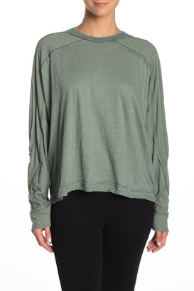 Free People All About It Long Sleeve Workout Top
