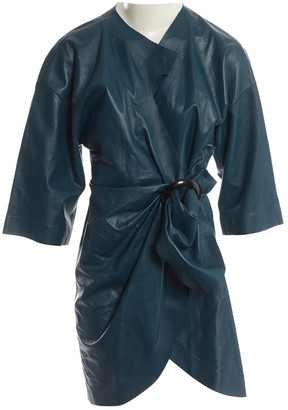 J.W.Anderson J W Anderson Blue Leather Dresses