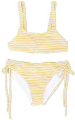 Knot Sunshine stripes bikini