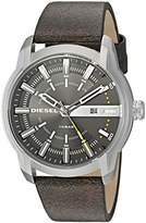 Diesel Men's DZ1782 Armbar Stainless Steel Brown Leather Watch
