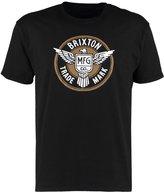 Brixton Whitman Print Tshirt Black