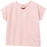 7 For All Mankind Boxy Cap Sleeve Blouse (Little Girls)
