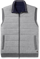Dunhill - Reversible Quilted Brushed-wool Gilet