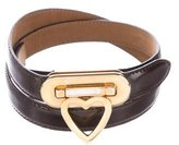 Moschino Leather Heart Belt