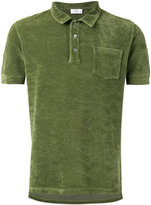 Closed short sleeve polo shirt with pocket - men - Cotton/Polyester - L