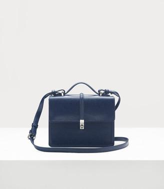 Vivienne Westwood Sofia Medium Shoulder Bag Blue