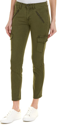 AG Jeans The Whitt Sulfur Climbing Ivy Super Skinny Cargo Ankle Cut