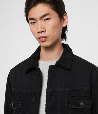 AllSaints Bladro Denim Jacket